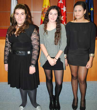 Reina y damas honor Fiestas San Blas 2016 Valdemorillo