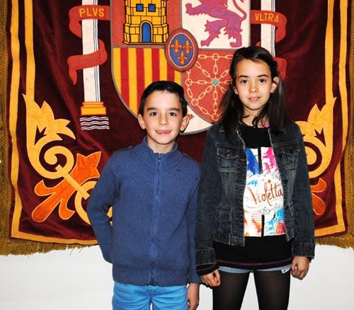 Reina Infantil fiestas San Blas 2015