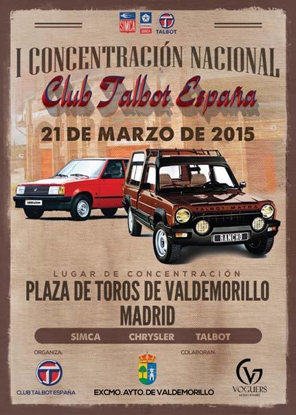 Concentración Nacional Club Talbot Valdemorillo