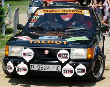 Concentración Club Talbot Valdemorillo