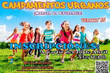 Campamentos Urbanos 2015 Valdemorllo