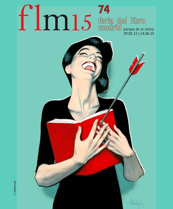 Cartel Feria del Libro 2015