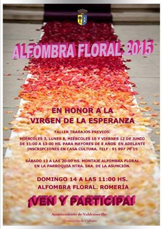 Alfombra Floral Valdemorillo