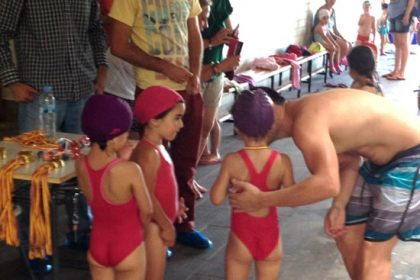 Entrega medallas Natación Gabriel Bayarri