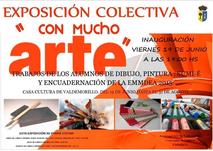 Exposción Talleres artes plásticas Valdemorillo