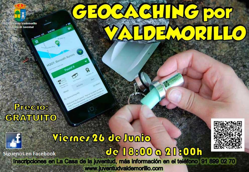 Geocaching Valdemorillo