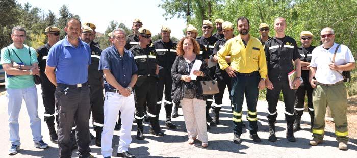 Cerro Alarcón Plan Prevención Incendioss