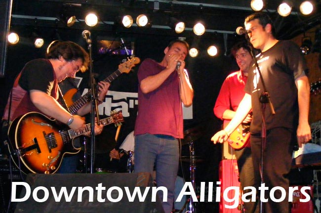 concierto downtown alligators valdemorillo