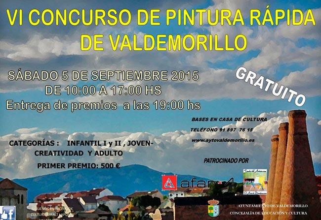 Concurso Pintura Rápida Valdemorillo