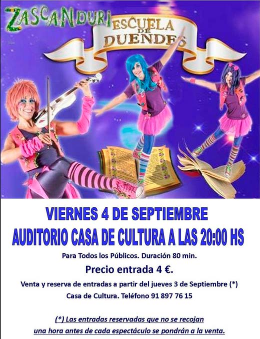 Fiestas Septiembre Valdemorillo 2015