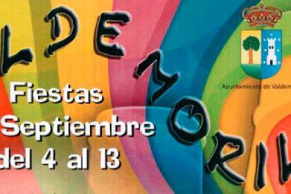 Programa Fiestas Septiembre Valdemorillo 2015