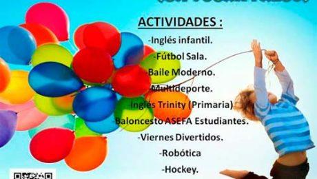 Actividades Extraescolares Colegio Juan Falco