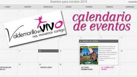 calendario de eventos de Valdemorillo