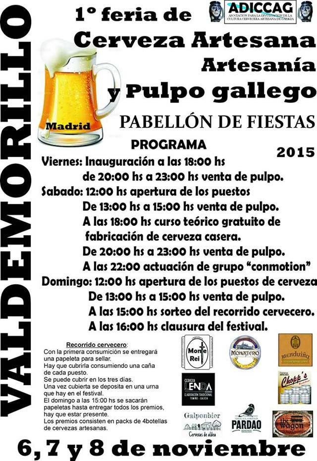 Feria Cerveza Artesanal Valdemorillo