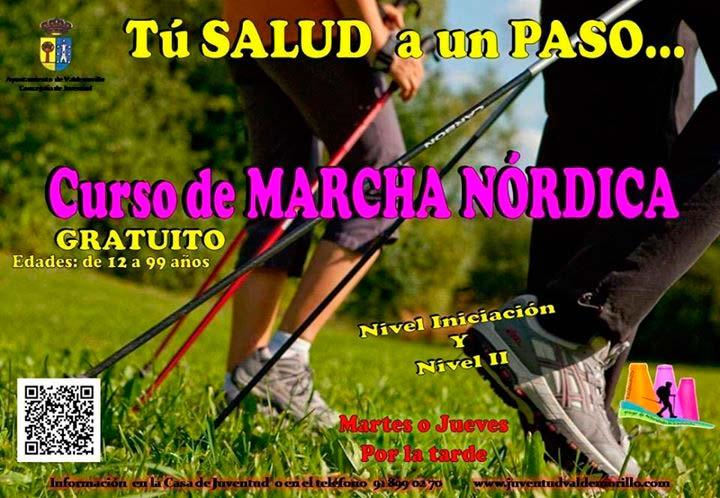 Marcha nórdica Valdemorillo