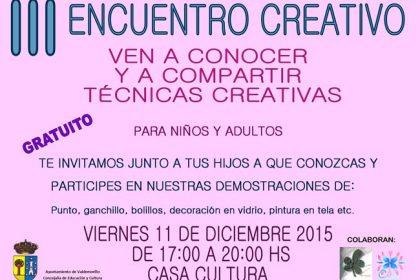 Encuentro creativo Valdemorillo