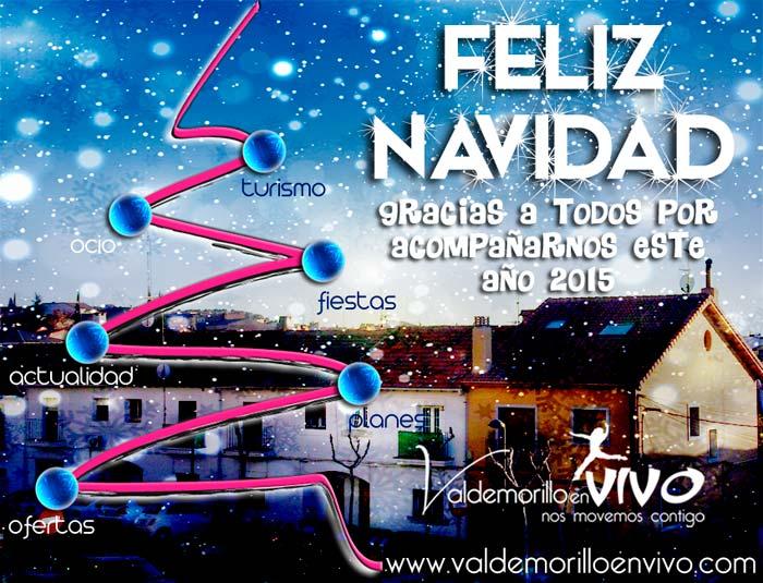 felicitación navidad Valdemorillo en Vivo