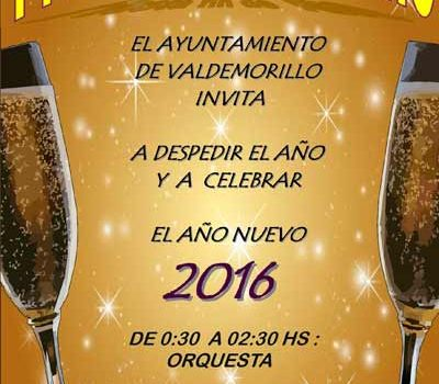 Fiesta Nochevieja Valdemorillo 2016