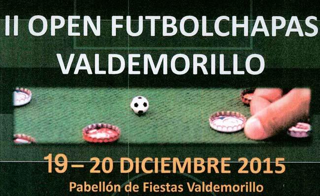 open futbolchapas Valdemorillo