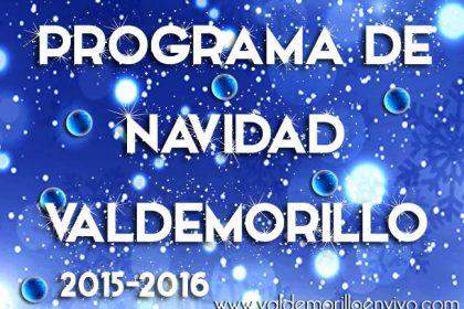 programa Navidad Valdemorillo 2015 2016