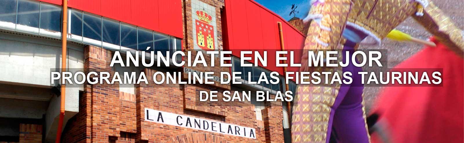 Fiestas San Blas 2016 Anuncios