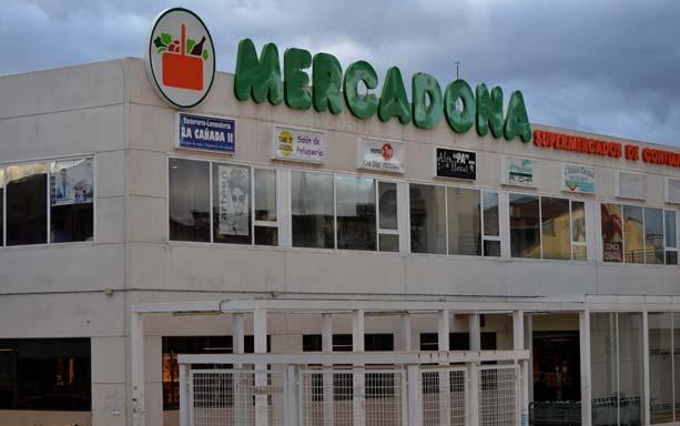 plazas parking mercadona Valdemorillo