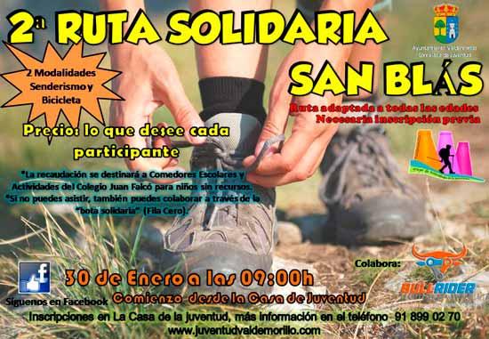 Ruta Senderismo San Blas 2016