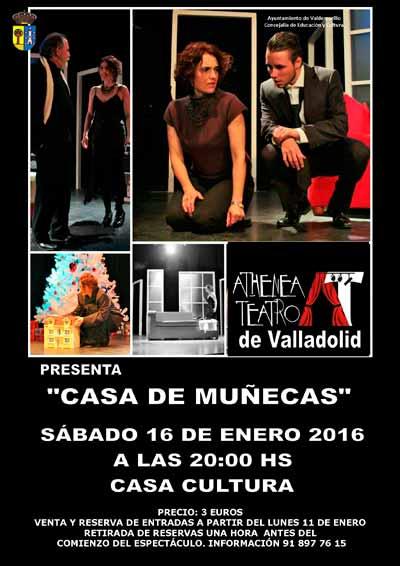 Teatro en la casa de la cultura de valdemorillo casa de - Casa de munecas teatro ...