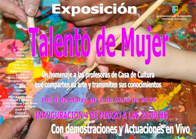 exposiciones casa cultura Valdemorillo