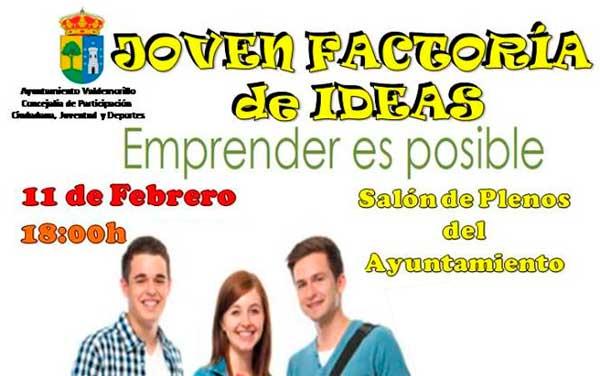 taller emprendimiento jóvenes