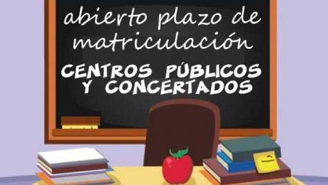 matriculación colegios públicos Madrid