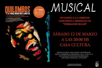 Musical Quilombos Valdemorillo