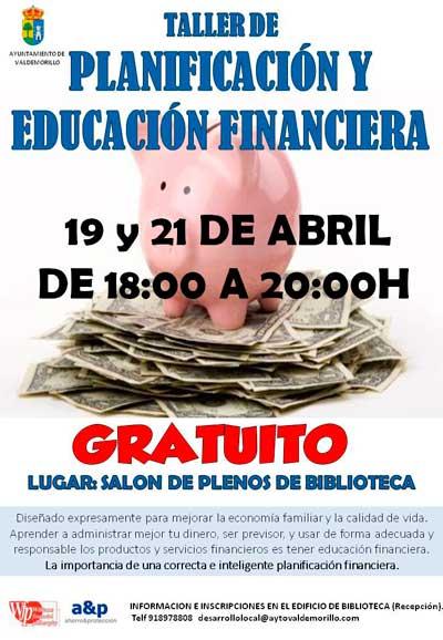 taller de planificación financiera