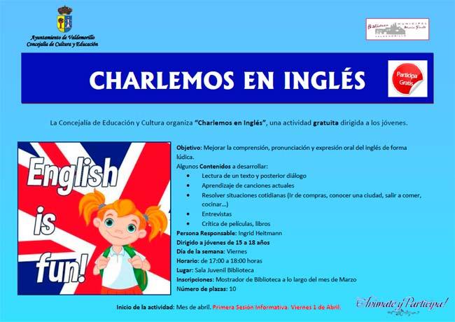 talleres conversación en inglés Valdemorillo