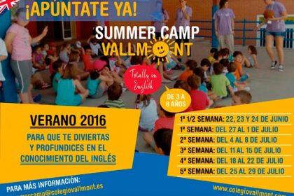 Campamentos verano en inglés 2016