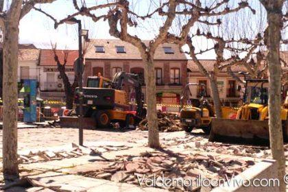 Obras casco urbano Valdemorillo