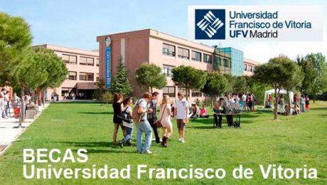 Becas universidad Francisco de Vitoria