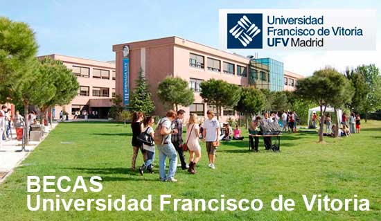 Becas universidad Francisco de Vitoria