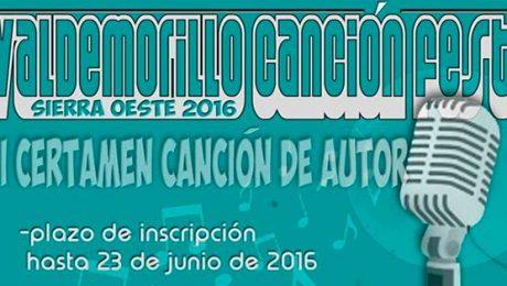 certamen cantautores Valdemorillo 2016