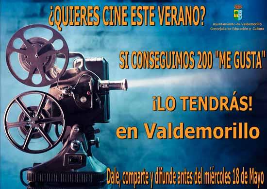 cine de verano en Valdemorillo