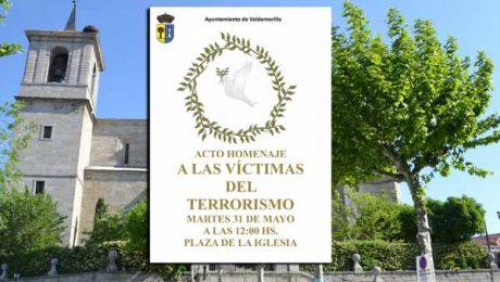 homenaje víctimas terrorismo Valdemorillo