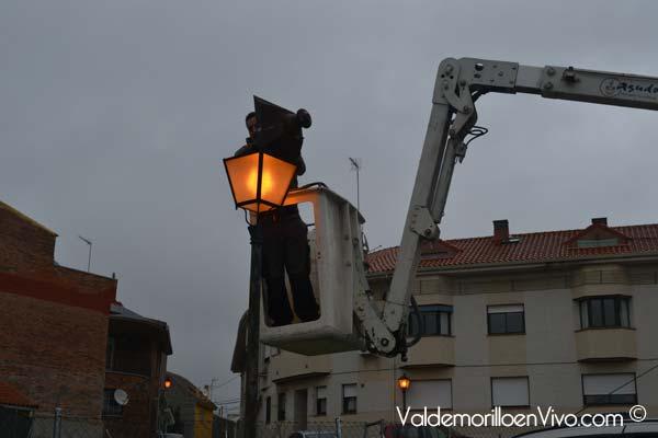 Renovación alumbrado de valdemorillo