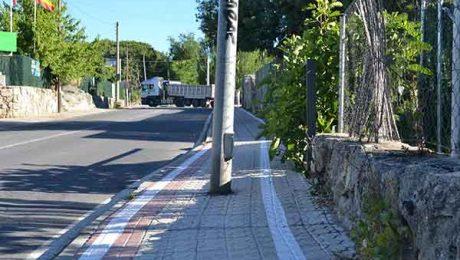 carril bici Valdemorillo
