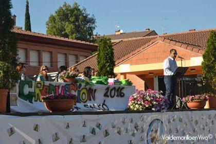 graduación colegio Valdemorillo 2016