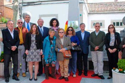 homenaje víctimas terrorismo en Valdemorillo