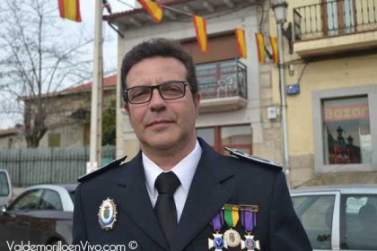 Carlos Alonso. Sargento Policía Local Valdemorillo.