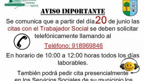 servicios sociales Valdemorillo
