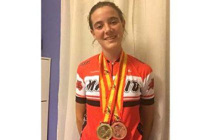 Adriana San Román Ciclismo