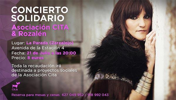 concierto Rozalén Solidario