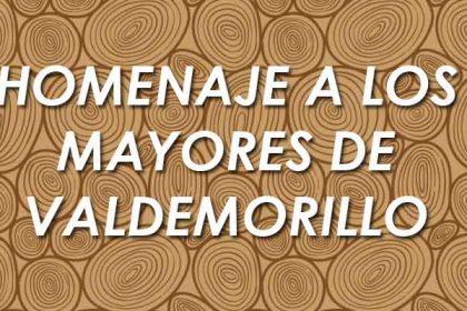 homenaje mayores Valdemorillo